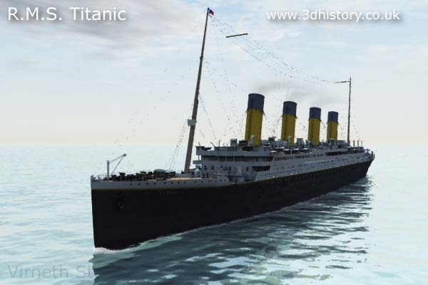 The Titanic was known as the Ship pf Dreams.