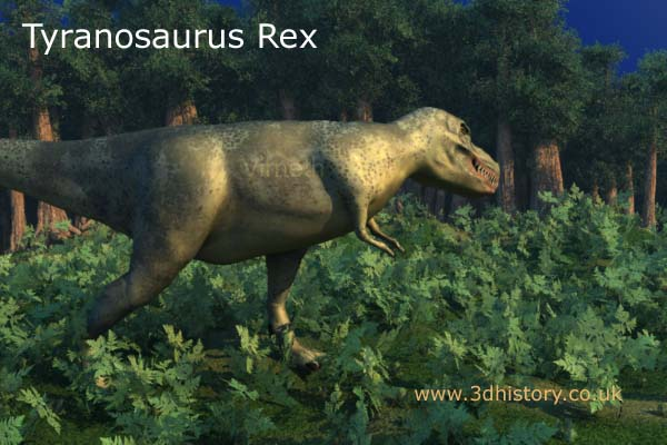 Tyrannosaurus Rex was the biggest carnivore to walk the earth.