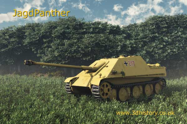 The JagdPanther was probably one of the best anti-tank vehicles of World War 2
