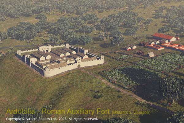 Ardotalia: The Auxiliary Roman Fort at Melandra, Glossop