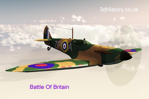 The Supermarine Spitfire Mk I was well known for its participation in the Battle of Britain during 1940.