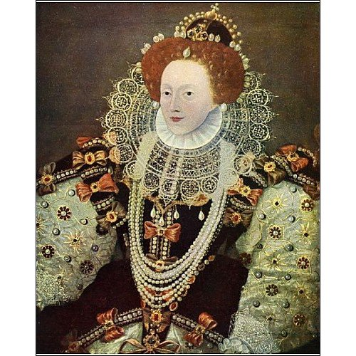 Print of Queen Elizabeth I from Heritage Images