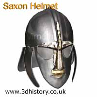 Saxon Helmet similar to the one found at Sutton Hoo